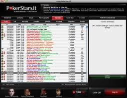 Poker Stars Lobby